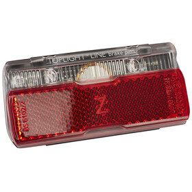 Busch + Müller Toplight Line + BrakeTec mit Standlicht 80mm schwarz/rot